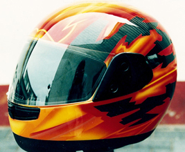Airbrush Carbon Helm