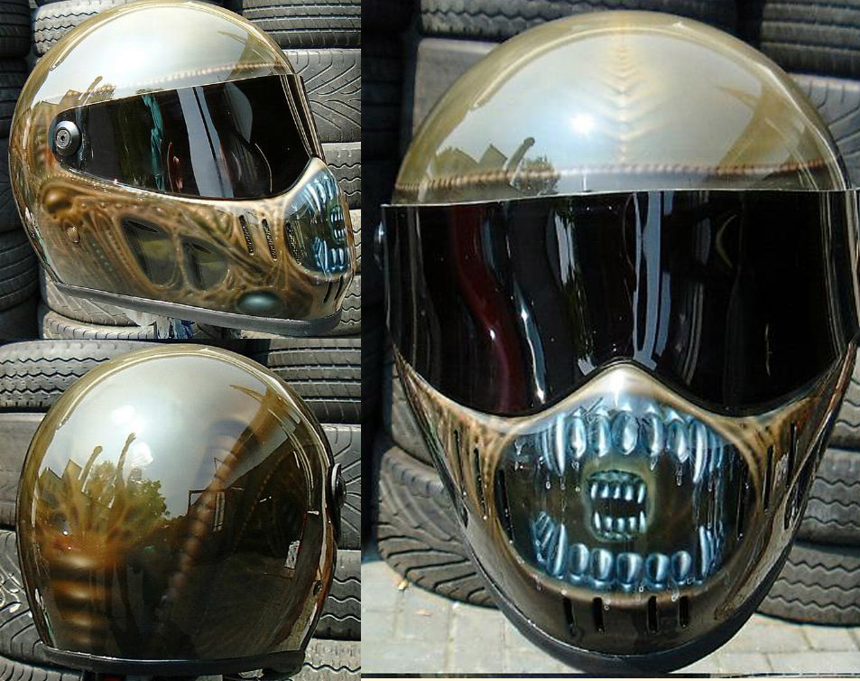 AlienHelm Airbrush-Design